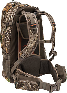 Tactical Hunting Backpack with Bow Rifle Holder Gun Carry Camo Archery Day Pack