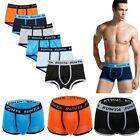 6 Pack Mens Boxer Briefs Underwear Bulge Pouch Trunks Stretch Shorts UnderPants