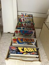 Cable lot of 50 issues from the 1990's to 2000 series  X-men