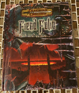 Dungeons & Dragons Fiend Folio 3rd edition d20