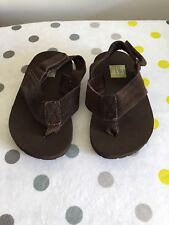 Baby Gap Brown Flip Flops