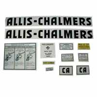 CA Decal Set Mylar Compatible with Allis Chalmers CA