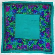 BERKSHIRE CHALLIS COLORFUL SQUARE SCARF