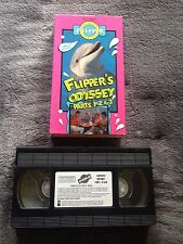 Flipper's Odyssey Parts 1, 2, & 3 - VHS Video Tape - Dolphin