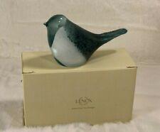 New LENOX Weathered Aqua Stone and White Bird 3.75in (9.5cm) Gift Quality