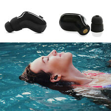Waterproof Mini Bluetooth V4.2 Headsets For Swimming Wireless Headphone Earpiece