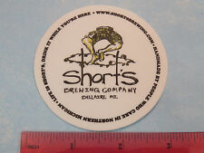 BEER STICKER: SHORTS Brewing Co ~ Bellaire, MICHIGAN ** See STORE for 1000s More