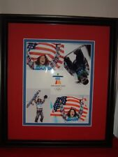 Shaun White Olympics Snowboard Picture Framed 4 in 1 Vancouver 2010