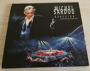 VERSION 3 CD DIGIPACK MICHEL SARDOU BERCY 98 CONCERT INTEGRAL