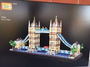 Tower Bridge 1455 pcs Mini Building Blocks 14.5x 31.5cm