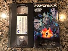 Paycheck VHS! 2003 Thriller! The Core Armageddon Total Recall Next