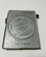 WWII AM NAVIGATIONAL COMPUTOR MK 111.D 6B/180 For Spitfire Pilots