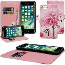 For New iPhone 6 / 6s - Stylish Luxury Leather Flip Wallet Slim Case Cover