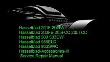 Hasselblad 201F 202FA Camera Service Repair Manual