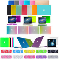 """FOR MACBOOK PRO / AIR 13"""" RUBBERIZED HARD MATTE PLASTIC CASE KEYBOARD COVER 2012"""