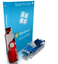 Samsung Windows 7 Home Basic Reinstall Recovery Boot USB + Driver USB 64 Bit