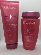 KERASTASE BAIN CHROMATIQUE  8.5OZ & FONDANT CHROMATIQUE 6.8OZ DUO SET NEW