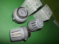 2 Stück Heimeier Thermostatköpfe Heizung Heizkörperthermostatköpfe gebraucht
