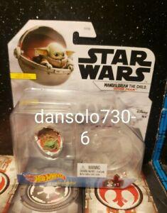 Star Wars Hot Wheels MANDALORIAN THE CHILD HOVER PRAM