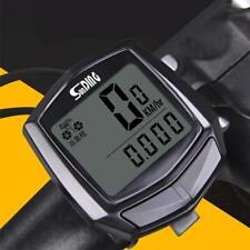 Waterproof LCD Digital Cycle Bike Bicycle Computer Speedometer Odometer Stopwatc
