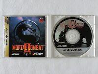 Mortal Kombat 2 II SS Aklaim Sega Saturn From Japan