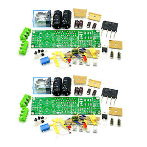2pcs GAINCLONE LM3875 2*50W Amplifier Kit Two-channel Speaker Protective Circuit