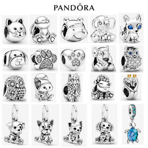 Genuine Sterling Silver ALE S925 Pandora Pets Animals Dangle Charm With Gift Box