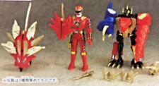 Power Ranger Dino Thunder Sentai Abaranger Figure Sword Megazord Candy Toy Set 3