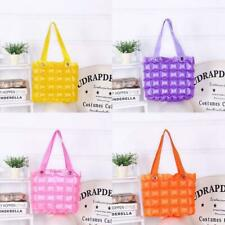 Inflatable Bubble Handbags Blow Up Waterproof Jelly Candy Colour Beach Bags