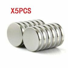 5pcs Super Strong Round Magnets 30mm x 2mm Disc Rare Earth Neo Neodymium N52 ♫