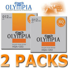 TWO SETS Olympia HQ USA Acoustic Guitar Strings 12-53w