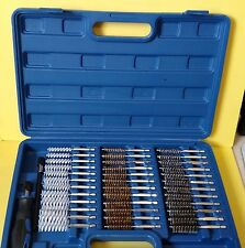 Klutch 43099 Bore Brush Set, 38 Pieces ~ Free Shipping