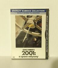 2001: A Space Odyssey snapcase (DVD, Stanley Kubrick Widescreen, Canadian NEW