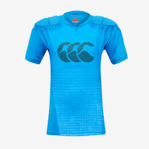 Canterbury Rugby Kids Raze Protective Body Armour - Blue - New
