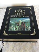 Holy Bible Old Testament LDS Mormon King James Version Gilt Edges Family Bible