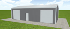 Steel Building 24x45 Simpson Metal Building Kit Garage Workshop Prefab Structure