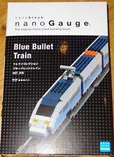 Blue Bullet Train Nanoblock NanoGuage Micro Sized Building Block Kawada nGT010
