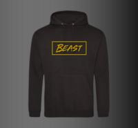 Mr Beast Hoody Youtuber Beast Hoodie Pullover Kids Adults UNISEX Black GOLD