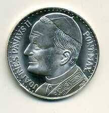 Medaille Papst Jahannes Paul II Vatican Wappen M_098