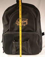 Eastsport Outdoor Company Backpack  Black Canvas Nice