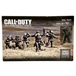Mega Bloks Call Of Duty Seal Team 06824 Collector Series - NEW & SEALED - 2014