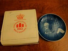 Bing and Grondahl Christmas Plate, 1978, Copenhagen Porcelain, Made in Denmark,