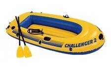 INTEX Bateau - Canot Challenger 2 + PAGAIE + pompe manuelle 68366np