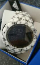 BNIB ADIDAS  watch digital ADP3244 WHITE/Black