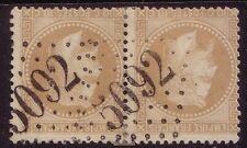 EMPIRE - N°28 EN PAIRE OBLITERATION GC5092- MERSINA TURQUIE - COTE +240€-SUPERBE