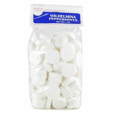 HAFCO Wilhelmina Peppermints Candy - (1 and 2-Pack Options, 1 lb) - Dutch...