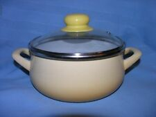 Enamel Cookware Pot Enamel coating, made in Serbia & Montenegro.