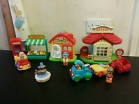 ELC Happyland Village Bundle, Post Office, Greengrocer, Garage, Telephone Box