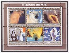 0607 Mozambique 2002 Ijsbeer polar-bear S/S Mnh