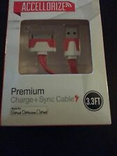 Stereo iPhone, iPod, iPad Accessories Sync or Charger Cable